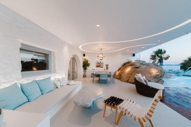 Seawest Villa Mykonos καθιστικό
