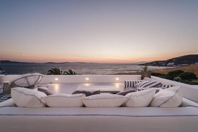Seawest Villa Mykonos θέα