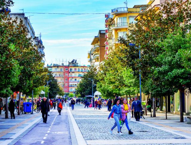 Σέρρες - Στο κέντρο της πόλης