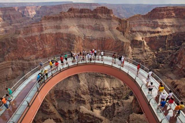Skywalk στο Grand Canyon