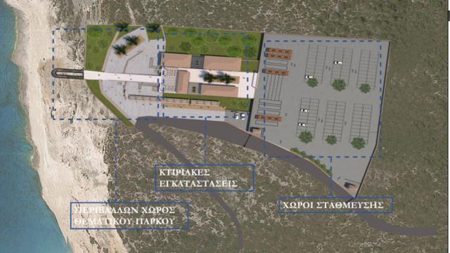 Πρόταση - Θεματικό πάρκο - Skywalk, Ναυάγιο, Ζάκυνθος