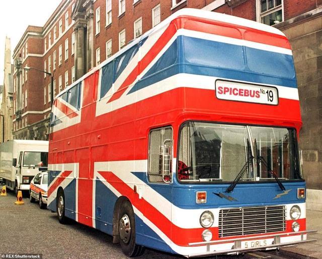 Το Spice Bus όπως ήταν στην ταινία