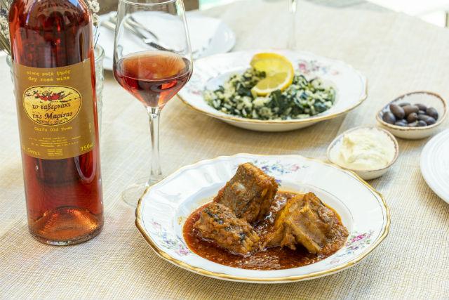 Το ταβερνάκι της Μαρίνας, Κέρκυρα - φαγητό