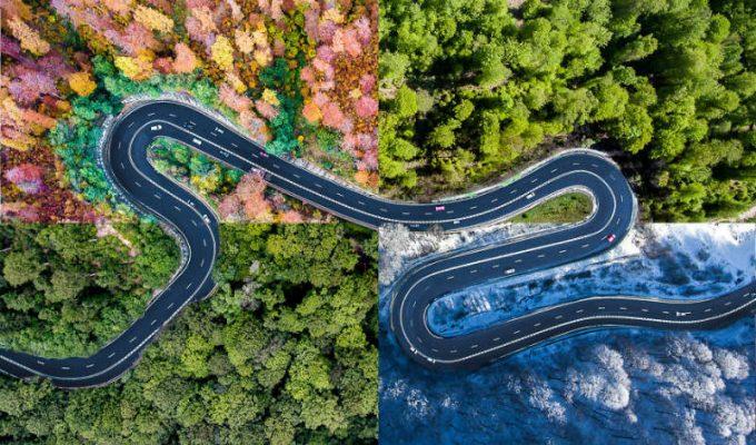 Τρανσυλβανία, Ρουμανία - δρόμοι