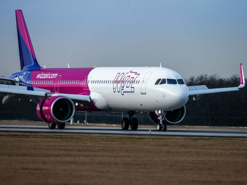 Wizz Air αεροπλάνο