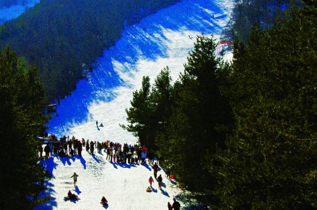Χιονοδροµικό Κέντρο Λαϊλιά, Σέρρες