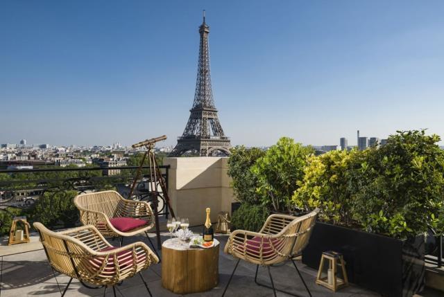La Terrasse Krug, Shangri-La Παρίσι