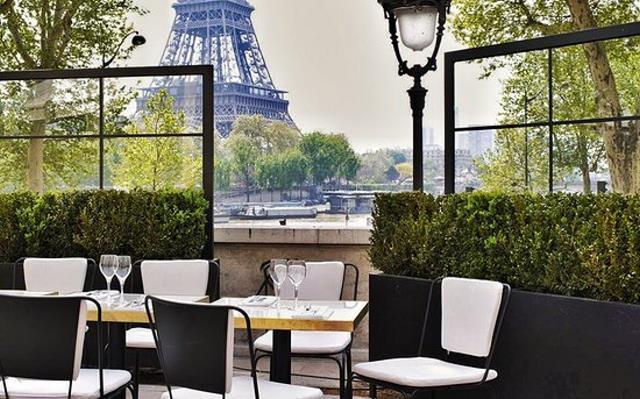 Monsieur Bleu εστιατόριο Παρίσι