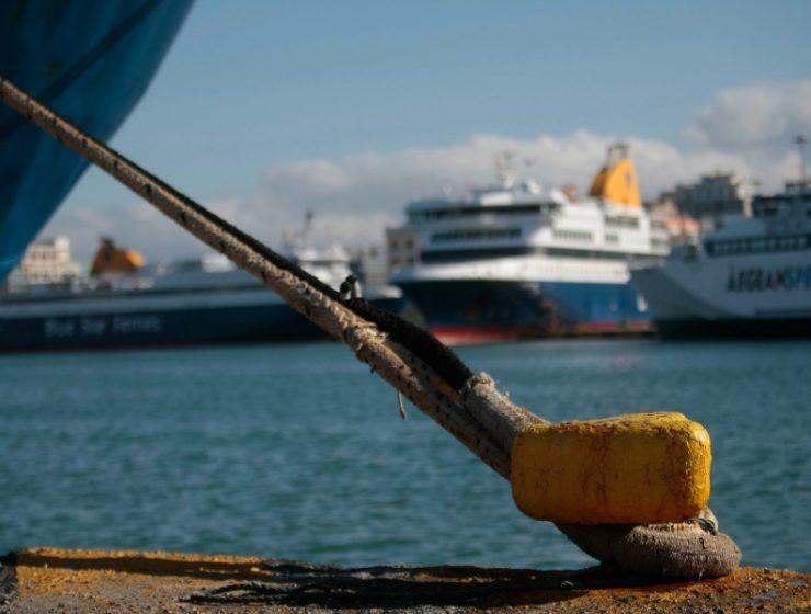 Απεργία πλοία