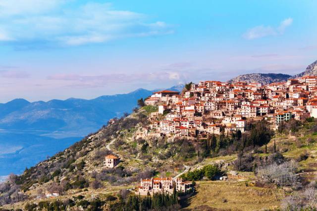Αράχωβα, Ελλάδα - διακοπές