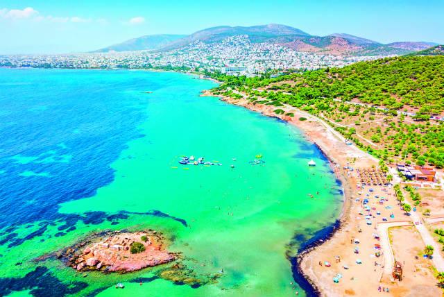 Αθηναϊκή Ριβιέρα - θάλασσα