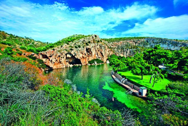 Αθηναϊκή Ριβιέρα - Λίμνη Βουλιαγμένης