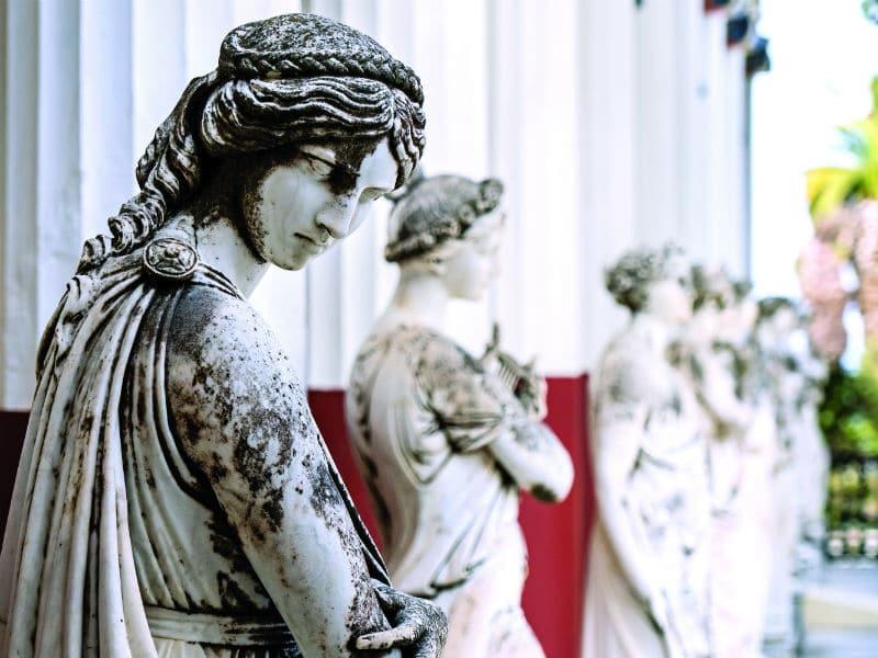 Κέρκυρα: Διαλύεται το  Αχίλλειο, το παραμυθένιο παλάτι της Πριγκίπισσας Σίσσυ