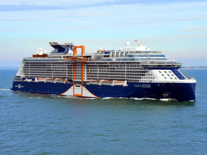 Celebrity Edge - κρουαζιερόπλοιο στην Ελλάδα