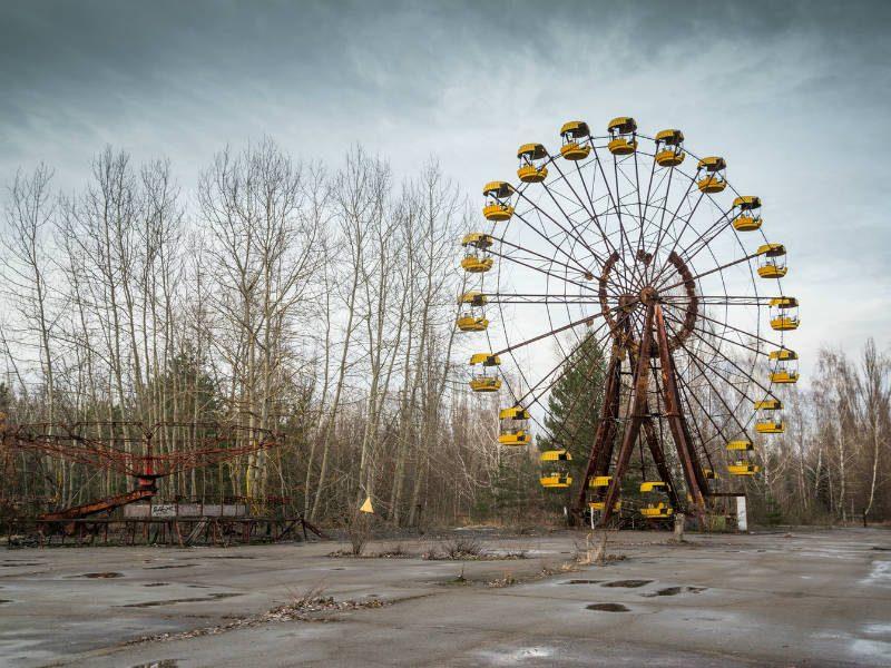 Τσέρνομπιλ: Στην πόλη που ο χρόνος έχει παγώσει
