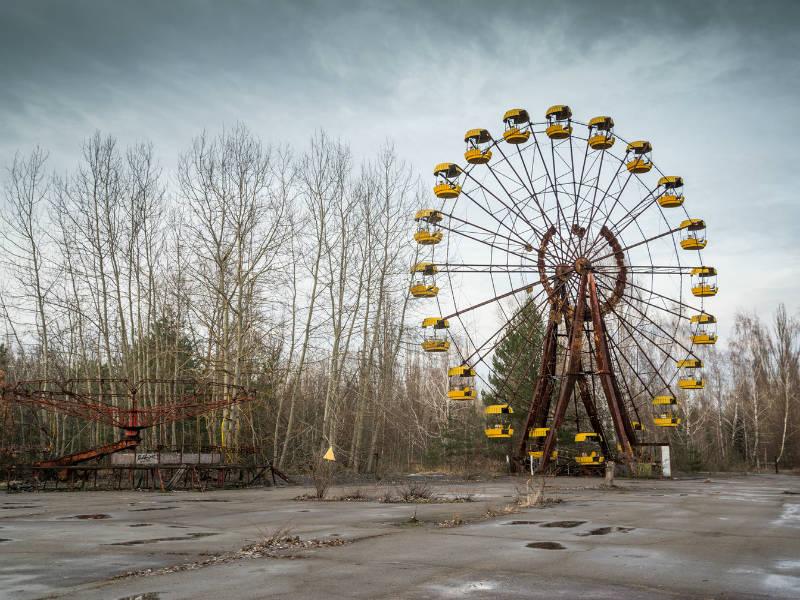 Τσέρνομπιλ: Στην πόλη που ο χρόνος έχει παγώσει (video)
