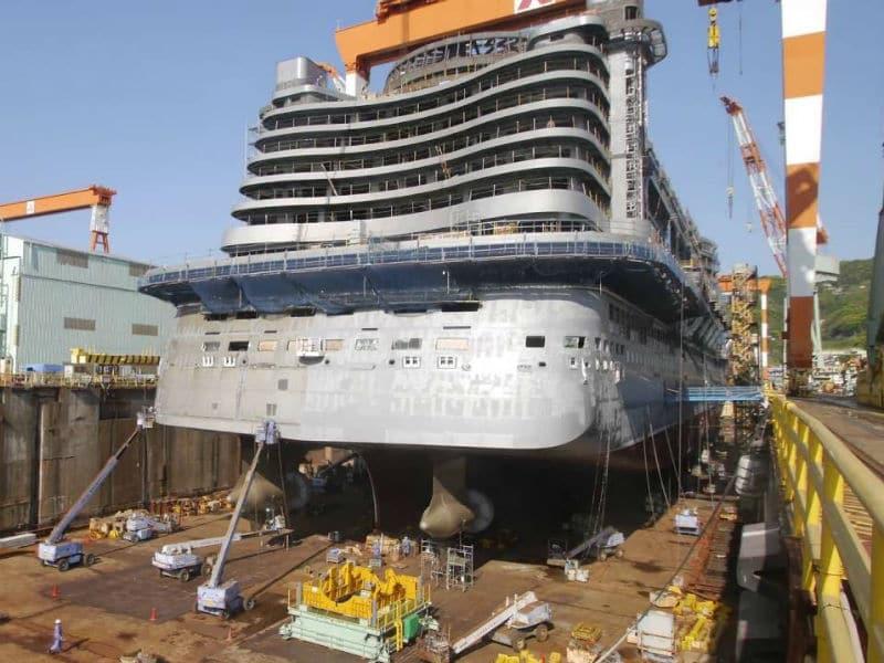 Δείτε την εντυπωσιακή κατασκευή ενός κρουαζιερόπλοιου! (video)