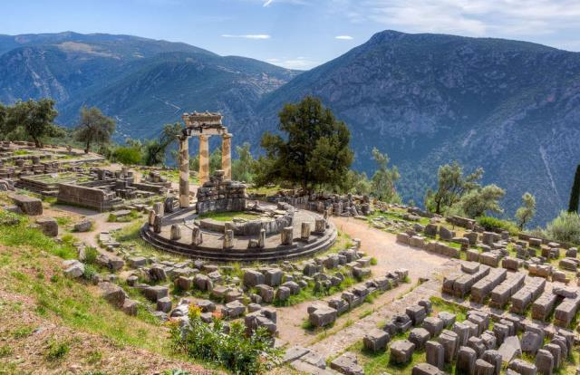 Δελφοί, Ελλάδα - διακοπές