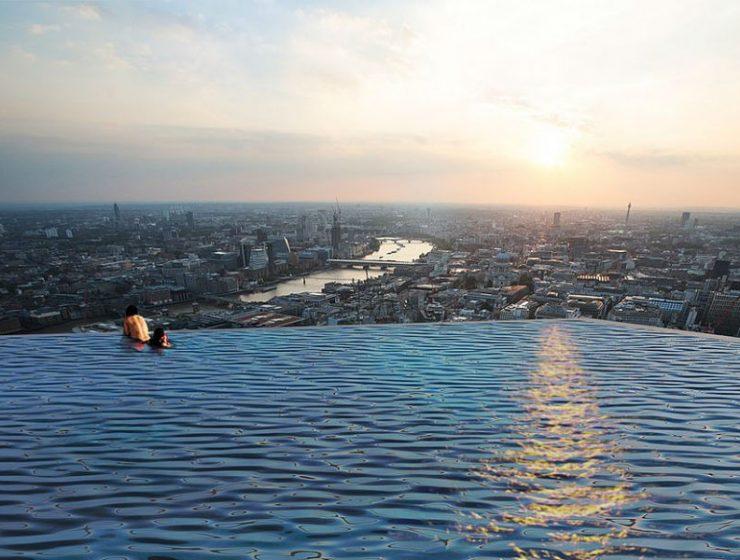 Infinity πισίνα Λονδίνο