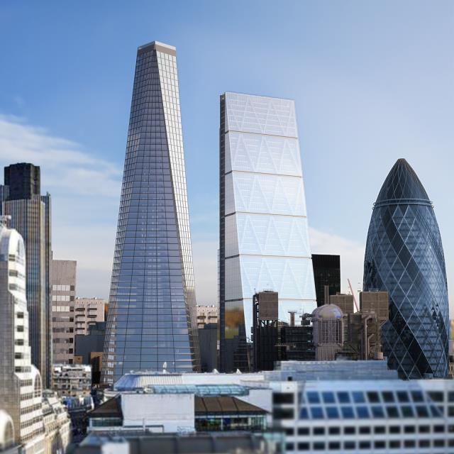 Infinity πισίνα Λονδίνο - ουρανοξύστης