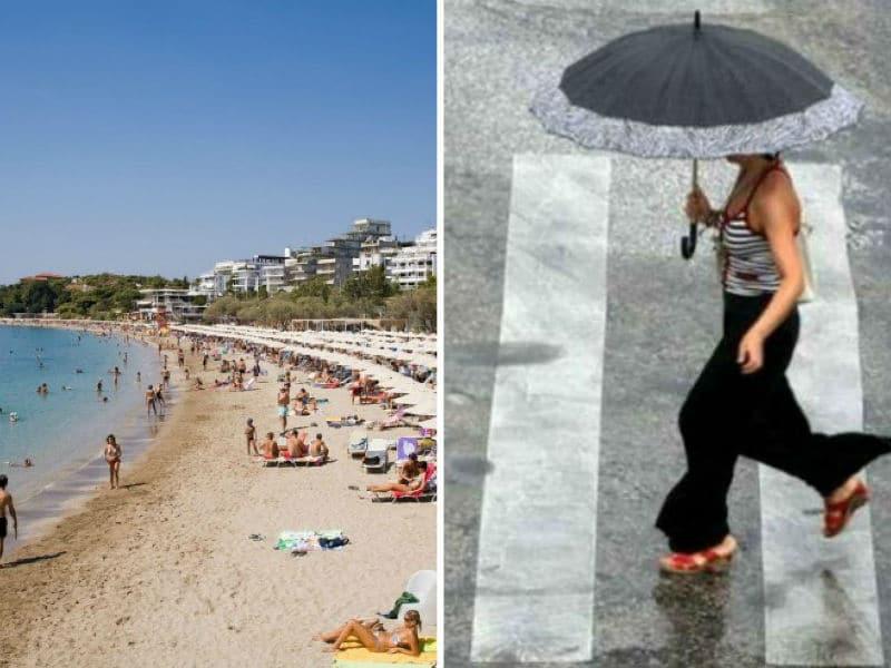 Καιρός: Καύσωνας με… βροχές! Σε ποιες περιοχές θα βρέξει;