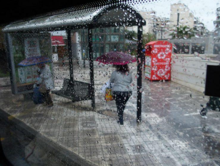Βροχές και χαλάζι