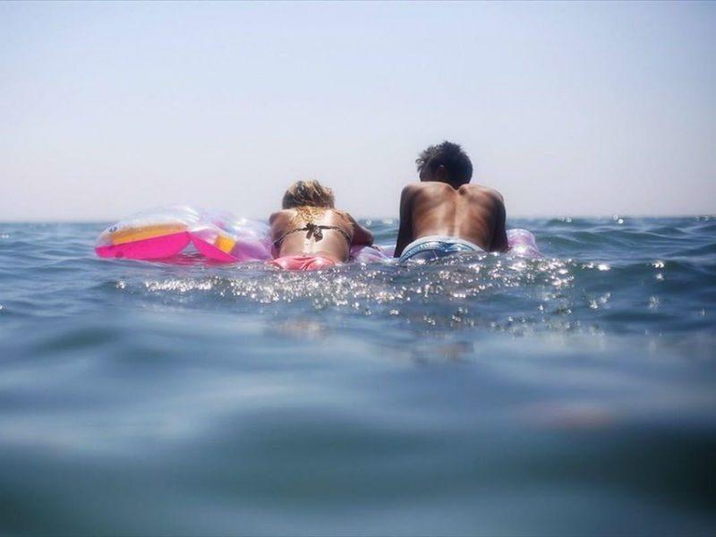 Ζέστη, Παραλία, Μπάνιο