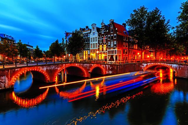 Άμστερνταμ το βράδυ