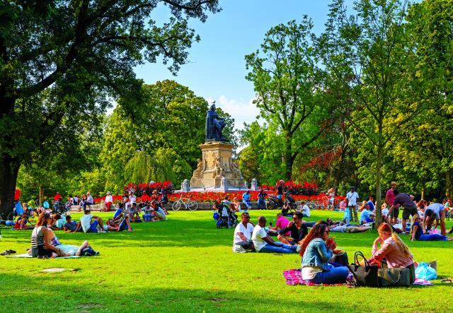 Άμστερνταμ πάρκο Volden