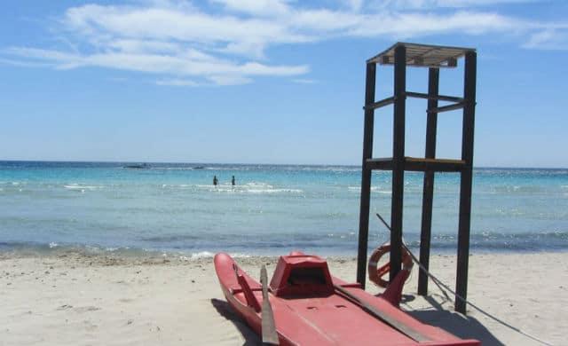 Ναυαγοσώστης - παραλία