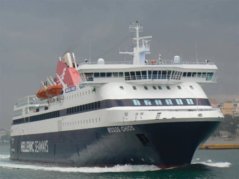 Ξεκίνησε η νέα γρηγορότερη ακτοπλοϊκή σύνδεση του Πειραιά με Χίο και Λέσβο!