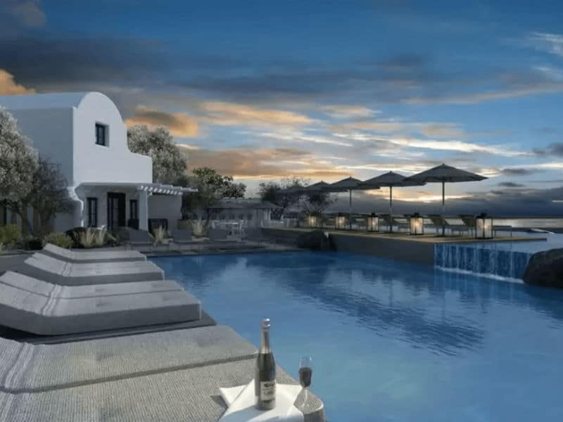 OMMA Santorini: Το νέο 5άστερο ξενοδοχείο στο Ημεροβίγλι με τη φαντασμαγορική θέα!