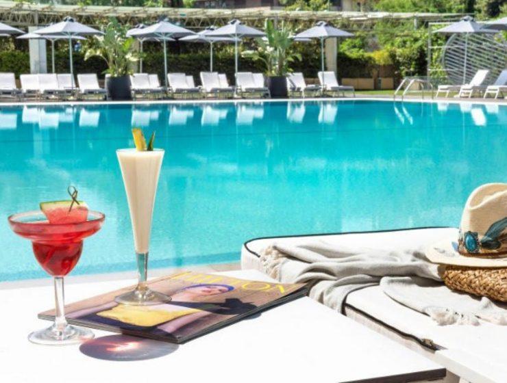 Πισίνα Hilton Αθήνα
