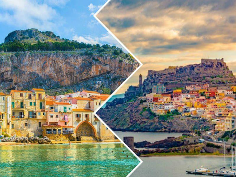Σικελία vs Σαρδηνία: Συγκρίνουμε τα δύο μεγαλύτερα νησιά της Μεσογείου!