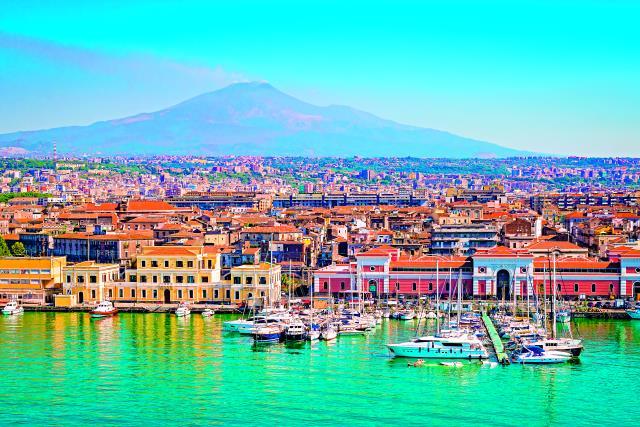 Κατάνια, Σικελία