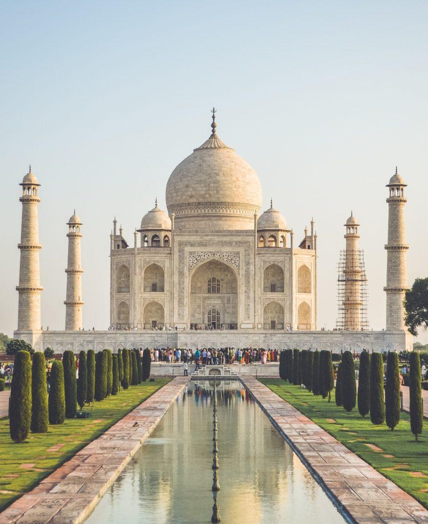 Taj Mahal - 7 θαύματα του κόσμου