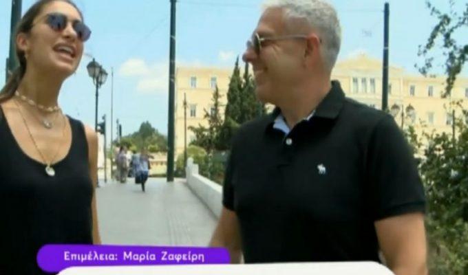 Ο Τάσος Δούσης στην Αθήνα - Έλα χαμογέλα