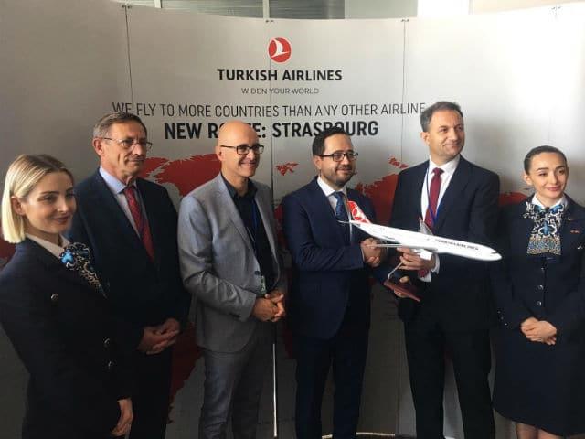 Turkish Airlines: Νέα σύνδεση για Στρασβούργο