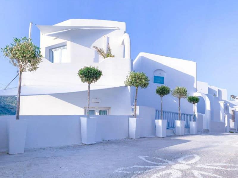 Το ξενοδοχείο της Αμοργού που ξεχωρίζει με την κυκλαδίτικη αρχιτεκτονική του!