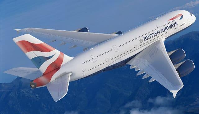 British Airways αεροπλάνο