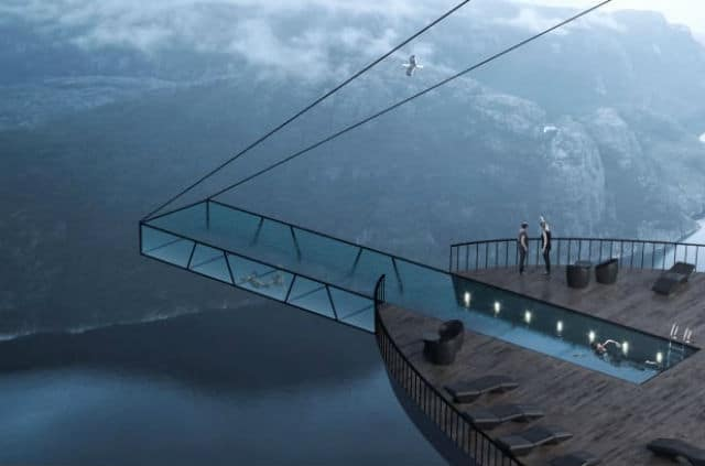 Cliff Concept Boutique Hotel, Νορβηγία
