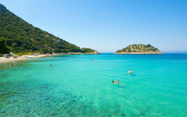 Παραλία Divna Κροατία