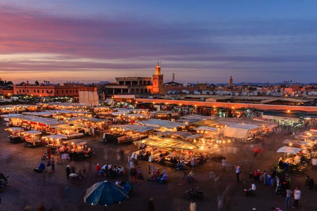 Πλατεία Djemaa el Fna Μαρακές