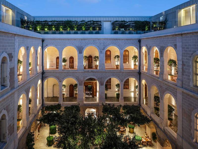Η απόλυτη μεταμόρφωση: Από νοσοκομείο στο πιο in ξενοδοχείο του Τελ Αβίβ!