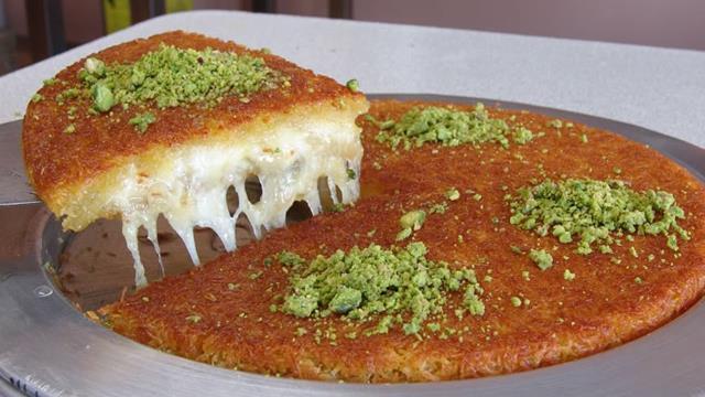 κιουνεφέ - Κωνσταντινούπολη φαγητό