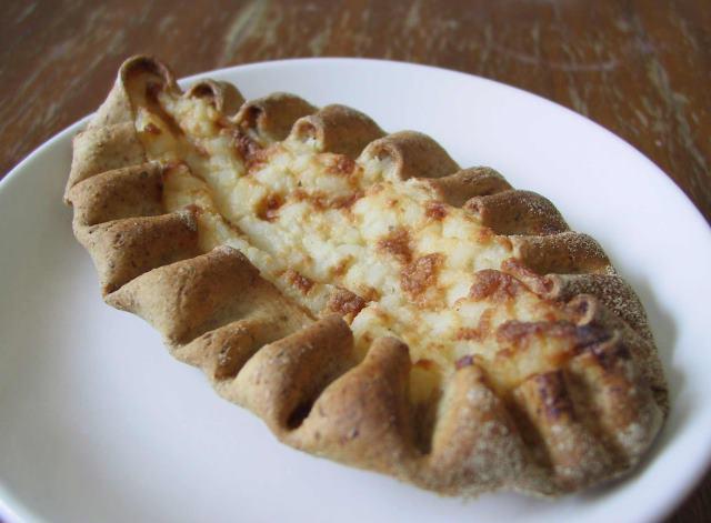 Karjalanpiirakka street food Φινλανδία