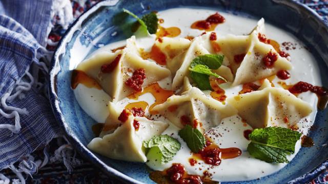 Manti - Κωνσταντινούπολη φαγητό