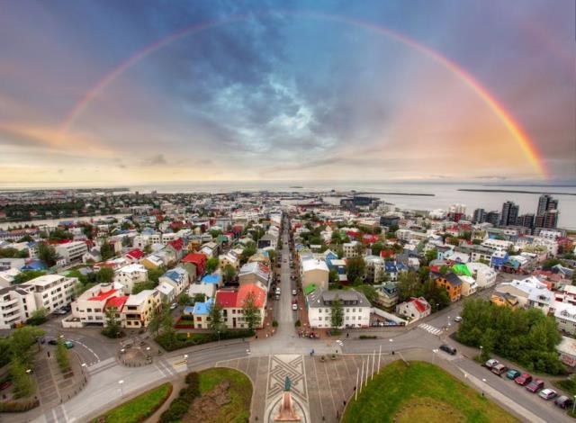 Ρέικιαβικ, Ισλανδία
