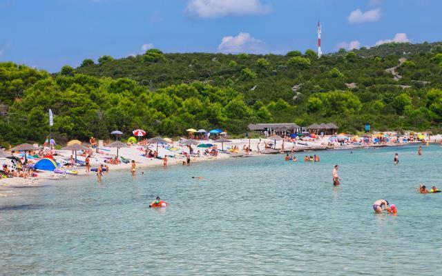 Παραλία Saharun Κροατία