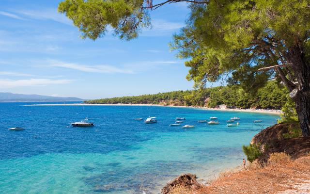 Παραλία Zlatni Rat Κροατία